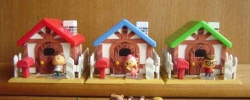 街へいこうよ どうぶつの森 わたしのおうち 家具 全5種 家 全5種 1 赤い屋根のおうちセット 男の子A (フル