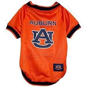 Mirage Pet Products Puppy Dog Cat Costume Auburn Tigers Sports Team Logo Jersey Small by Generic