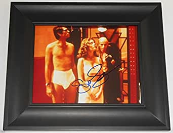 Susan Sarandon The Rocky Horror Picture Show Signed Autographed 8x10 Glossy Photo Gallery Framed Loa