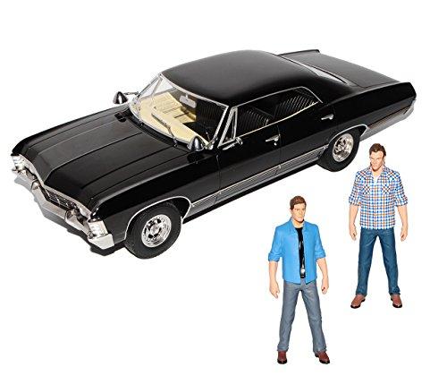 chevrolet-impala-sport-sedan-mit-2-figuren-1967-limousine-schwarz-supernatural-1965-1970-1-18-greenl