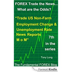 """FOREX Trade the news..... What are the Odds? """"Trade the US Unemployment Rate and Non-Farm Employment Change - M over M - News Report"""" (English Edition)"""