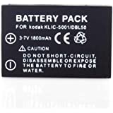 Neewer® Rechargeable Li-ion Battery Replacement for the KODAK KLIC-5001 Battery Pack Compatible With KODAK DX Series DX6490, DX Series DX7440, DX Series DX7590, DX Series DX7630 P Series P712, P Series P850, P Series P880, Z / ZD Series Z730, Z / ZD Series Z7590, Z / ZD Series Z760