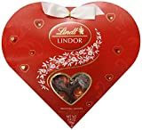 Lindt Valentine Lindor Truffles Gift Box, Milk Mini Heart, 3.4 Ounce