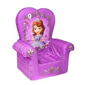 Marshmallow Children's Furniture - High Back Chair - Disney Princess Sofia The First