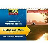 ADAC TourBooks Deutschlands Mitte: Die schönsten Motorrad-Touren