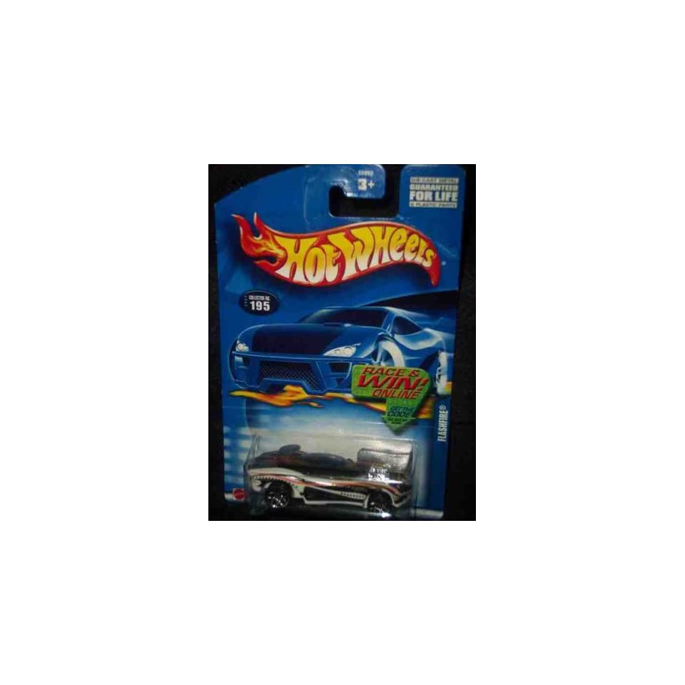 #2002 195 Flash Fire Collectible Collector Car Mattel Hot Wheels 164 Scale