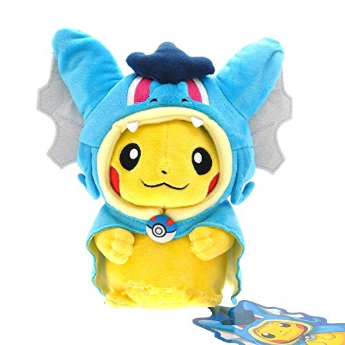 New Pokemon Magikarp Pikachu Gyarados Cosplay Plush Stuffed Animal Doll Toy Blue (Gameboy Advanced Stickers compare prices)