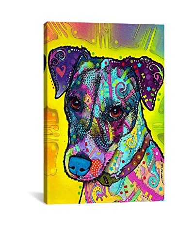 Dean Russo Gallery Jack Russell Canvas Print