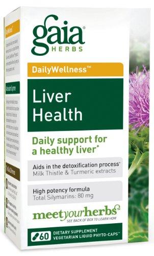 La santé du foie Gaia Herbs, 60-capsule de