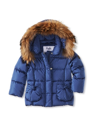 Il Gufo Kid's Fur Hood Jacket
