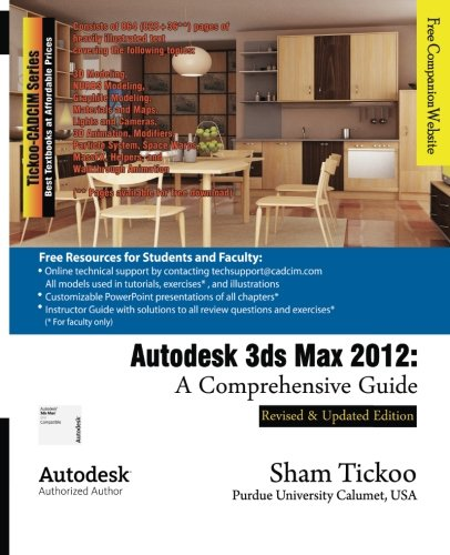 Autodesk 3ds Max 2012: A Comprehensive Guide