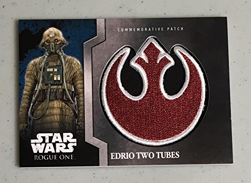 MultiSport MultiSport 2061 Topps Star Wars Rogue One Commemorative Patch #9 Edrio Two Tubes NM Near