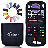 Sewing Kits Xpassion Professional Travel Sewing Kit Accessories for Beginners Kids Children Girls Adults