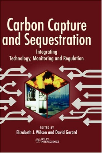 Carbon Capture And Sequestration Integrating Technology, Monitoring, Regulation front-1038391