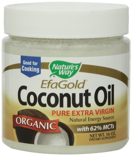 Nature s Way Coconut Oil, 16 Ounce