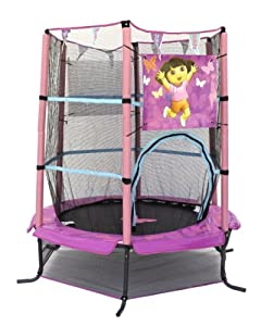 AirZone Dora Trampoline and Enclosure, 55-Inch