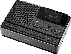 Sangean CL-100 Table-Top Weather Hazard Alert with AM/FM-RBDS Alarm Clock Radio by Sangean