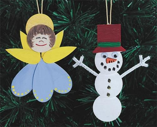 Holiday Happy Ornaments Craft Kit