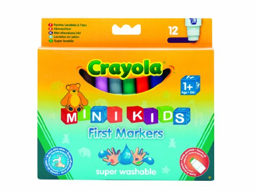 Crayola - 8 Mini Kids Markers