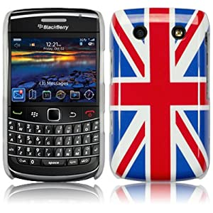 Union Jack Hard Back Cover Case For Blackberry Bold 9700 9780 PART OF THE QUBITS ACCESSORIES RANGE