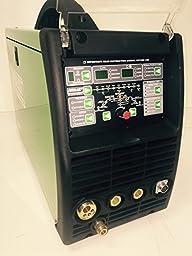 2016 Everlast PowerMTS 251Si Pulse MIG TIG Stick 250amp 110v/220v Multi Process Welder