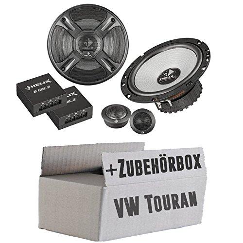 VW Touran 1 Heck - Helix - B 62C.2 - 16cm 2-Wege Lautsprecher System - Einbauset