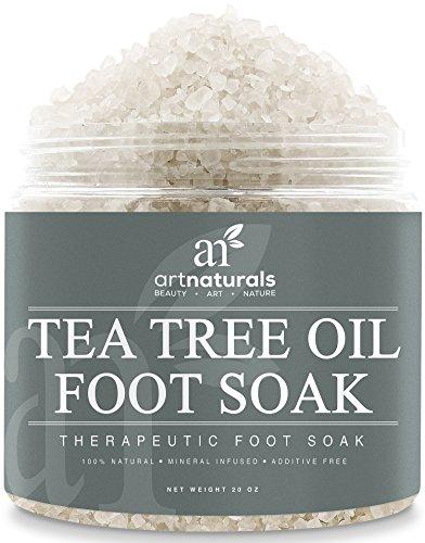 Art-Naturals-Teebauml-Fubad-mit-Totem-Meer-Salz-591-ml-Hilft-Fupilz-zu-entfernen-Schmerzen-zu-lindern-Naturreine-Inhaltsstoffe-therische-le-fr-wohltuende-Fupflege