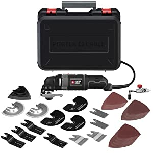 PORTER-CABLE PCE605K52 3-Amp Oscillating Multi-Tool Kit with 52 Accessories by PORTER-CABLE
