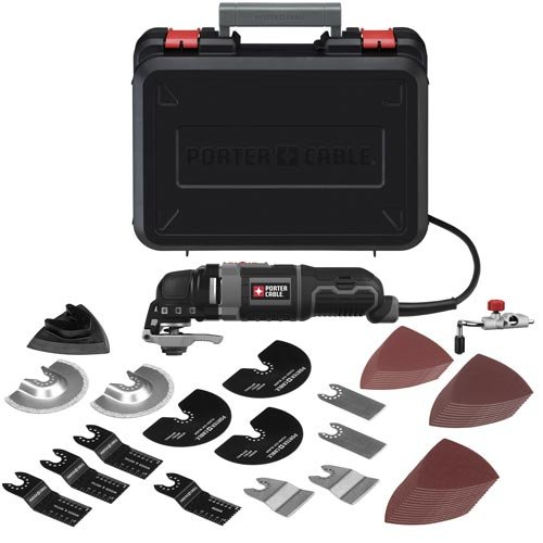Why Choose Porter Cable PCE605K52 3-Amp Oscillating Multi-Tool Kit with 52 Accessories