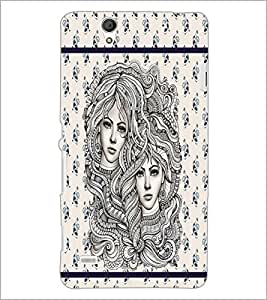 PrintDhaba Artwork D-3806 Back Case Cover for SONY XPERIA C4 (Multi-Coloured)