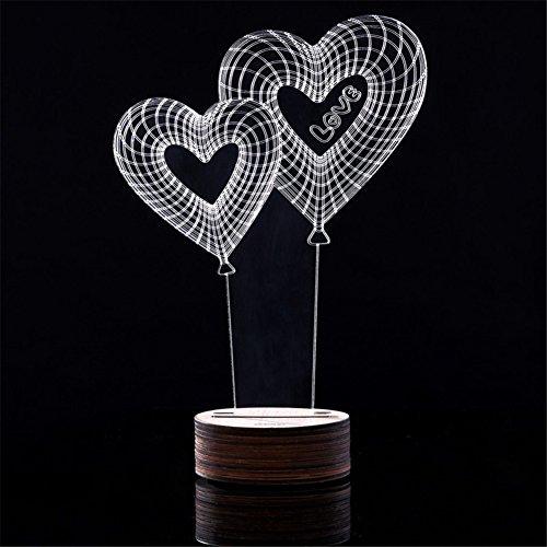 Alisabler magische optische t uschung 3d holz stimmungs for Lampen 3d modelle