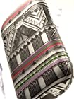 ShockWize (TM) Imago Series Samsung Galaxy Discover S730G Galaxy Centura S738C Geometric Aztec Pattern Armor Protector Cover Case (Straight talk
