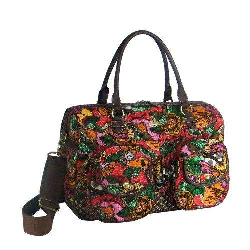 Oilily Weekender Reisetasche Tasche Rot Braun