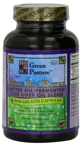 Blue Ice Royal Butter Oil / Fermented Cod Liver Oil Blend