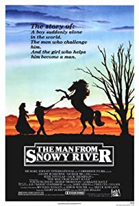 The Man From Snowy River Poster Movie 27 x 40 In - 69cm x 102cm Kirk Douglas Tom Burlinson Sigrid Thornton Terence Donovan Tommy Dysart Jack Thompson