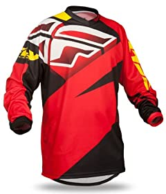 2014 FLY F16 Motocross Jerseys - Red - 2X-Large