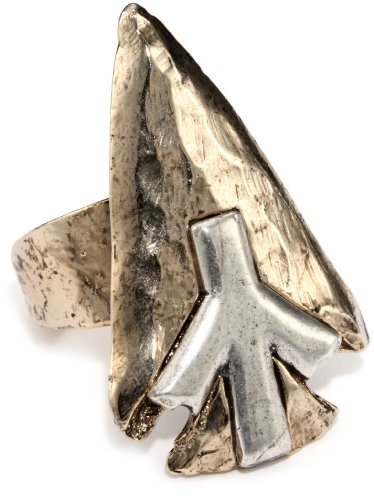 Low Luv by Erin Wasson 14k Gold-Plated Arrowhead Ring, Size 7