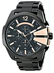 Diesel Diesel Chi Chronograph Black Dial Mens Watch-DZ4309
