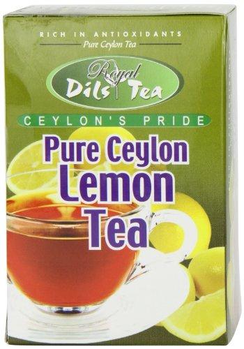 Dil'S Royal Tea, Lemon Tea, 20-Count Foil Envelopes (Pack Of 4)