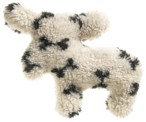 West Paw Design Madison Moose Squeak Toy for Dogs, Oat Bone