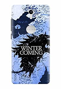 Noise Designer Printed Case / Cover for Swipe Elite Plus / Patterns & Ethnic / Winter Coming Design