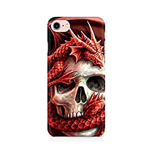 RAYITE Dragon Skull Premium Printed Mobile Back Case Cover For Apple iPhone 7 Apple iPhone 7, Apple iPhone 7s,Apple iPhone 7 case,Apple iPhone 7 cover,Apple iPhone 7 back cover,Apple iPhone 7 128 Gb,iPhone 7