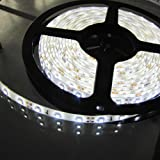 White Color 500cm 5m 3528 SMD LED Flex Strip Waterproof