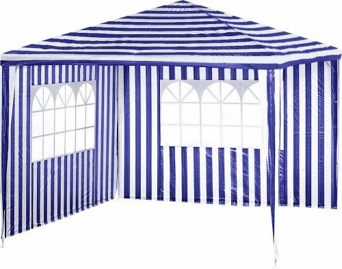 pavillon garden star blau 3x3 m incl preisvergleich shops tests 4893982113570. Black Bedroom Furniture Sets. Home Design Ideas