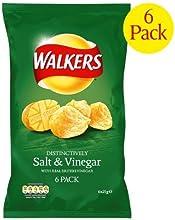 Crisps Walkers Salt amp Vinegar 4X6X25G