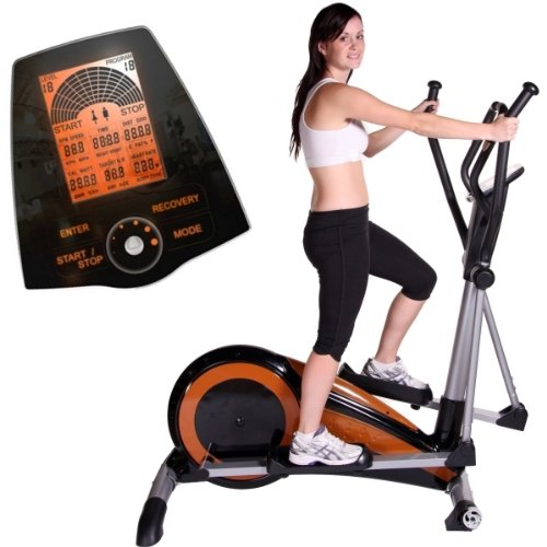 FRONTIER ULTRAGLIDE Long Stride Magnetic Elliptical Cross Trainer, German Quality, 3Yr WARRANTY