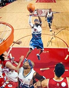 Autographed Allen Iverson Picture - 16x20 All Star # 99 - PSA DNA Certified -... by Sports+Memorabilia