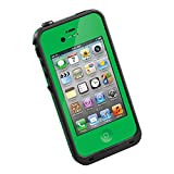 Product B00PDBYSXG - Product title Green New Arrival Hard Shell Waterproof Shockproof Dirtproof Snowproof Multi-purpose Protection Skin Case Full Body Cover for Apple iPhone 4 4s 4G With Free Stylus&Strap