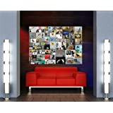 BANKSY COLLAGE GIANT PICTURE ART PRINT POSTER MR377