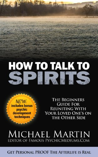 How To Talk To Spirits by Michael Martin ebook deal